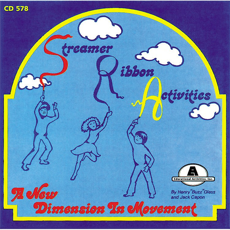 Educational Activities Streamer & Ribbon Cd