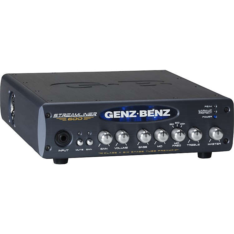 Genz Benz Streamliner 600 STM-600 600W Bass Amp Head
