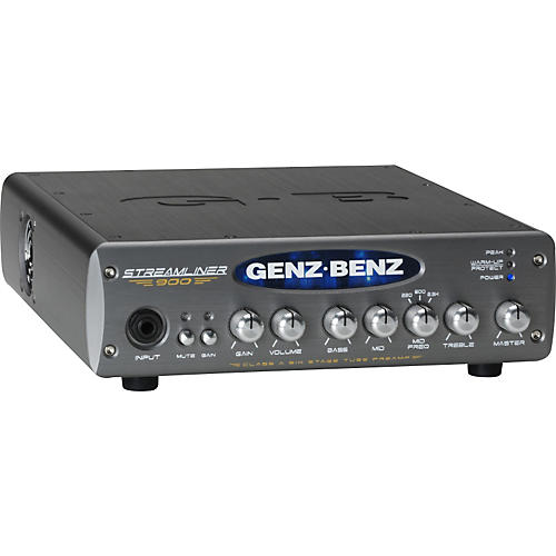 Genz Benz Streamliner 900 STM-900 900W Bass Amp Head