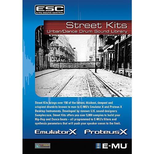E-Mu Street Kits Sounds (CD)