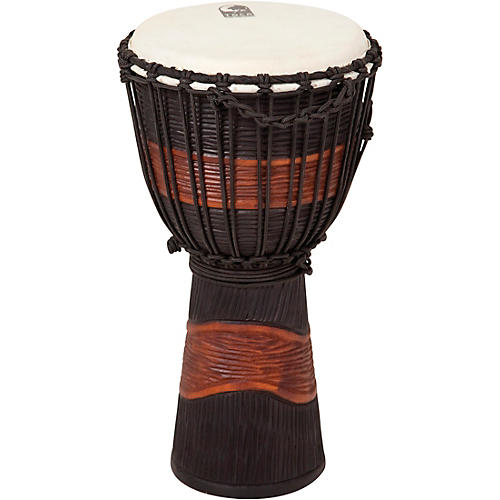 Toca Street Series Djembe Medium Black