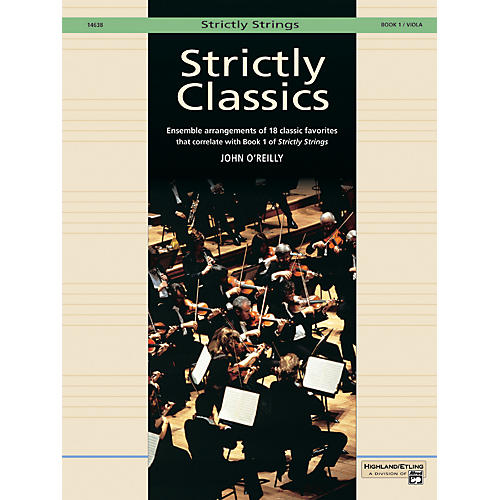 Alfred Strictly Classics Book 1 Viola-thumbnail