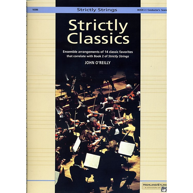 AlfredStrictly Classics Book 2 Conductor's Score