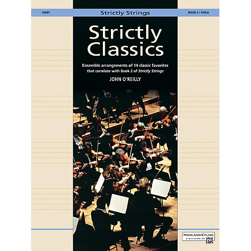 Alfred Strictly Classics Book 2 Viola-thumbnail