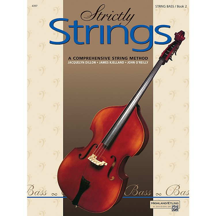 AlfredStrictly Strings Book 2 Bass