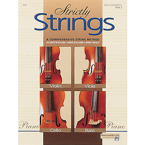 Alfred Strictly Strings Book 2 Piano Accomp.