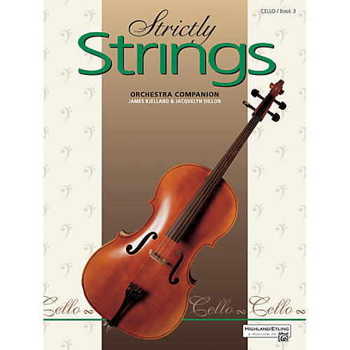 Alfred Strictly Strings Book 3 Cello