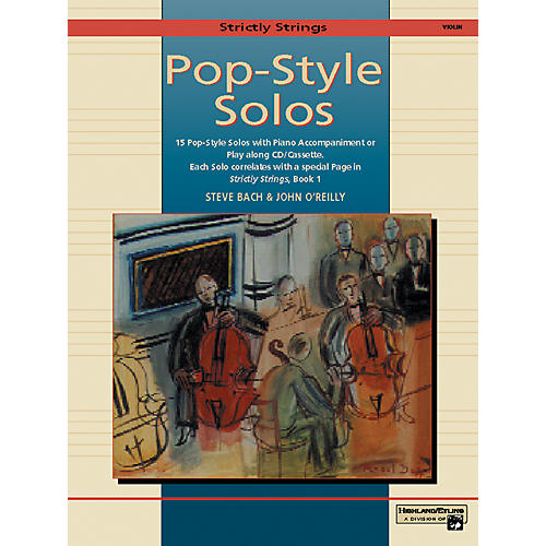 Alfred Strictly Strings Pop-Style Solos Violin Book Only