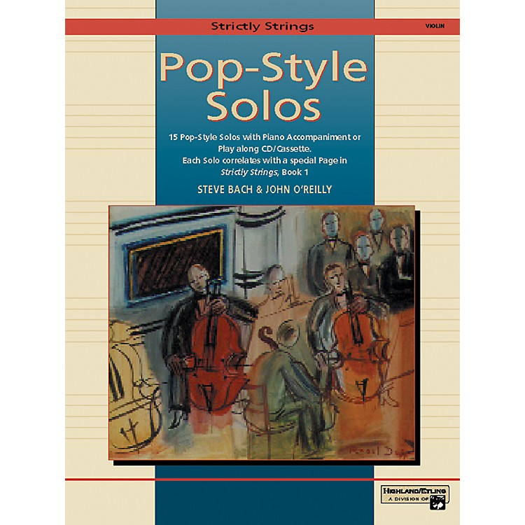 AlfredStrictly Strings Pop-Style Solos Violin Book Only