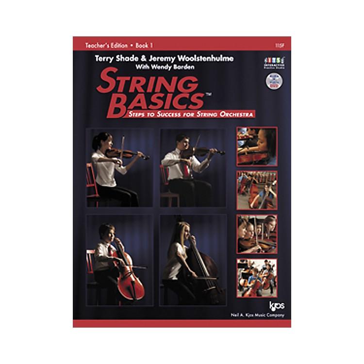 KJOSString Basics Book 1 - Teacher Book