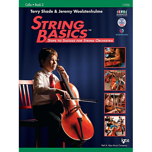KJOS String Basics Book 3 - Cello-thumbnail