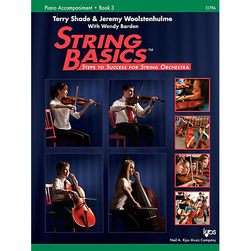 KJOS String Basics Book 3 - Piano Accompaniment-thumbnail