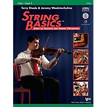 KJOS String Basics Book 3 - Viola