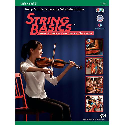 KJOS String Basics Book 3 - Violin-thumbnail