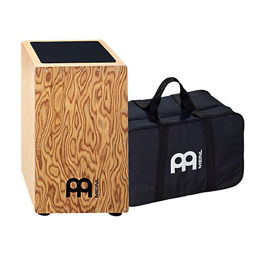 Meinl String Cajon with Bag Makah Burl Frontplate
