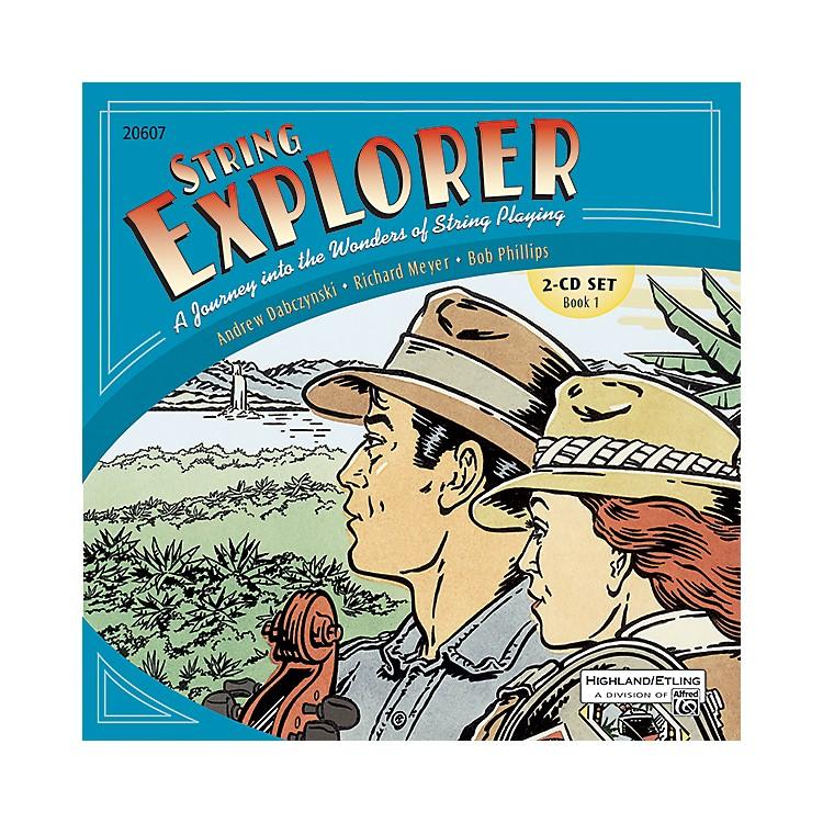 AlfredString Explorer Book 1 Acc. Recordings 2-CD Set