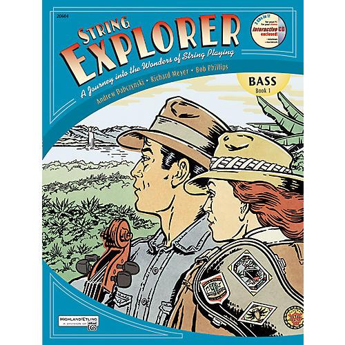 Alfred String Explorer Book 1 Bass