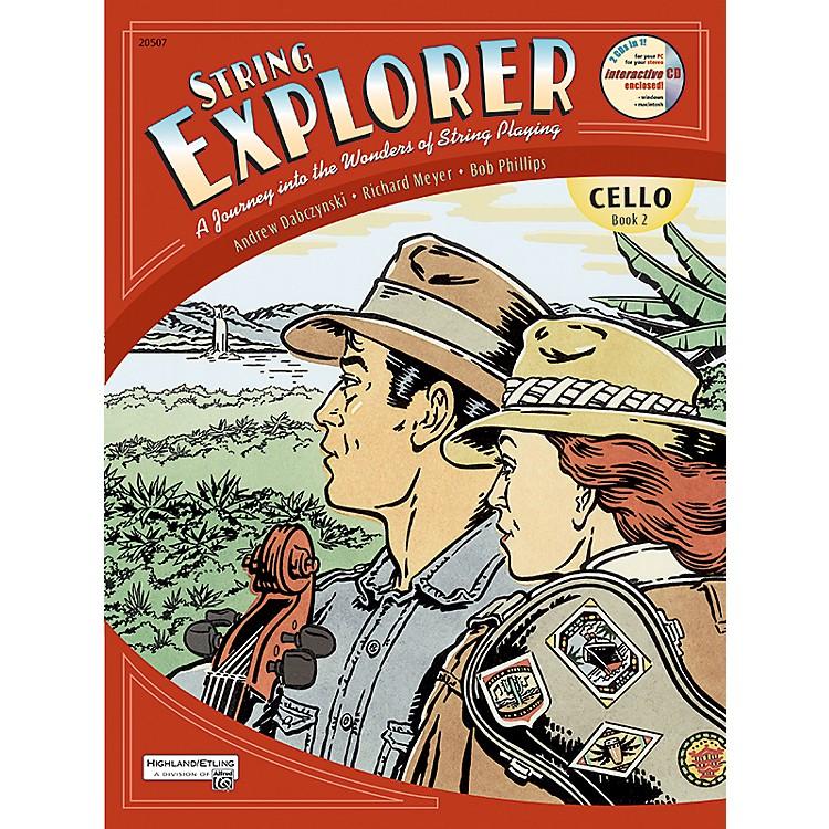 AlfredString Explorer Book 2Cello