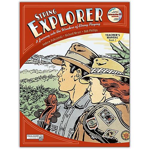 Alfred String Explorer Book 2 Teacher's Manual and Ecd-thumbnail