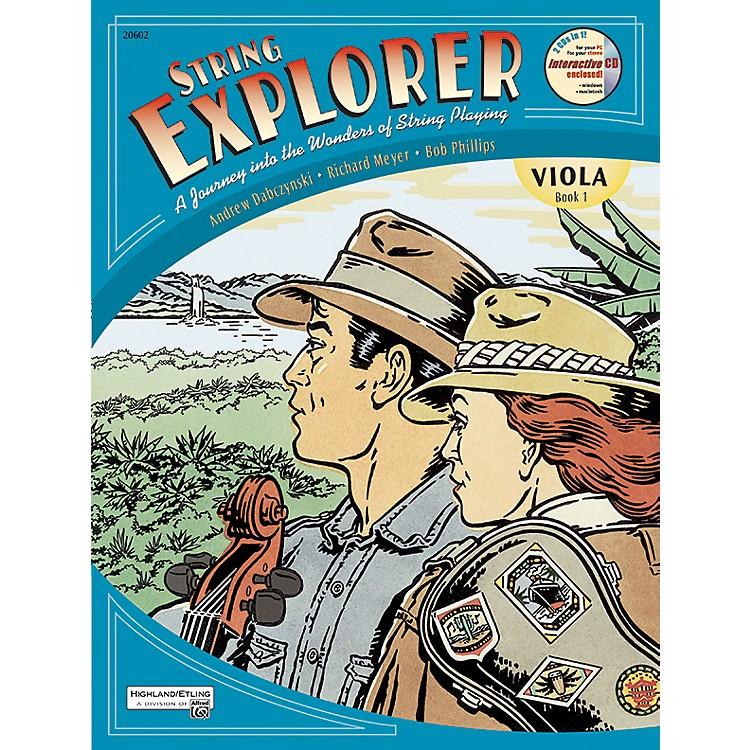 AlfredString Explorer for Viola, Book 1