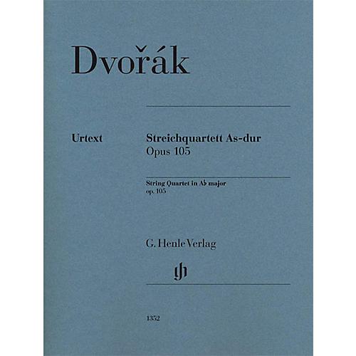 G. Henle Verlag String Quartet A-flat Major Op. 105 Henle Music Folios Series by Antonin Dvorak