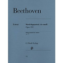 G. Henle Verlag String Quartet C Sharp minor Op. 131 Henle Music Folios Series Softcover Composed by Ludwig van Beethoven