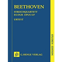 G. Henle Verlag String Quartet E Flat Major Op. 127 Henle Study Scores Series Softcover Composed by Ludwig van Beethoven