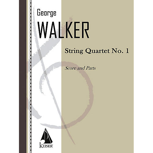 Lauren Keiser Music Publishing String Quartet No. 1 LKM Music Series Composed by George Walker-thumbnail