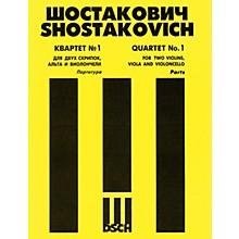 DSCH String Quartet No. 1, Op. 49 (Set of Parts) DSCH Series Composed by Dmitri Shostakovich