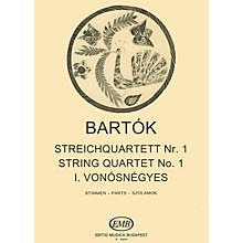 Editio Musica Budapest String Quartet No. 1, Op. 7 EMB Series Composed by Béla Bartók