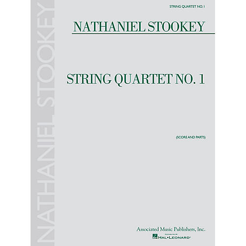 Associated String Quartet No. 1 (Score and Parts) String Ensemble Series Softcover Composed by Nathaniel Stookey-thumbnail