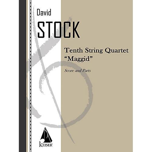 Lauren Keiser Music Publishing String Quartet No. 10 LKM Music Series Composed by David Stock-thumbnail