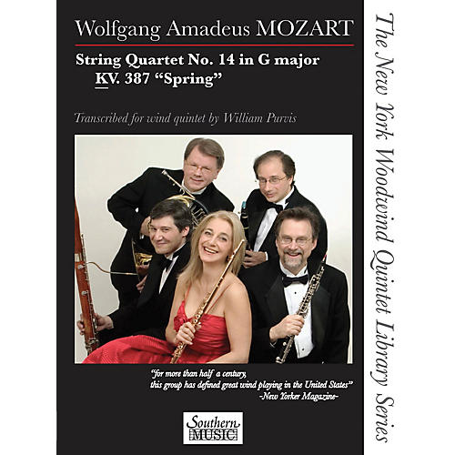 Southern String Quartet No. 14 in G Major, KV. 387 Spring Southern Music Series