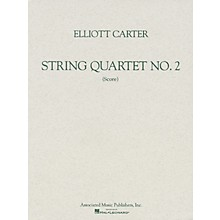 Associated String Quartet No. 2 (1959) (Study Score) Study Score Series Softcover Composed by Elliott Carter