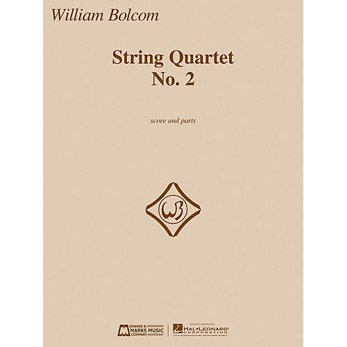 Edward B. Marks Music Company String Quartet No. 2 E.B. Marks Series Composed by William Bolcom-thumbnail