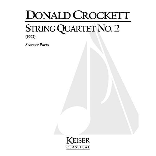 Lauren Keiser Music Publishing String Quartet No. 2 LKM Music Series Composed by Donald Crockett-thumbnail