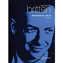Boosey and Hawkes String Quartet No. 2, Op. 36 (Set of Parts) Boosey & Hawkes Chamber Music Series by Benjamin Britten