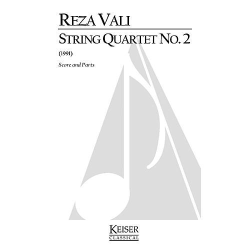 Lauren Keiser Music Publishing String Quartet No. 2 (Score and Parts) LKM Music Series by Reza Vali