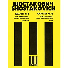DSCH String Quartet No. 4, Op. 83 (Score) DSCH Series Composed by Dmitri Shostakovich