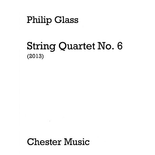 Music Sales String Quartet No. 6 (Score Only) Music Sales America Series Softcover Composed by Philip Glass-thumbnail