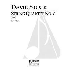 Lauren Keiser Music Publishing String Quartet No. 7 LKM Music Series Composed by David Stock