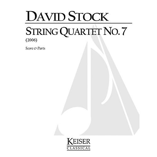 Lauren Keiser Music Publishing String Quartet No. 7 LKM Music Series Composed by David Stock-thumbnail
