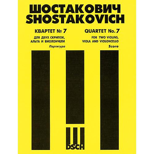DSCH String Quartet No. 7, Op. 108 (Score) DSCH Series Composed by Dmitri Shostakovich