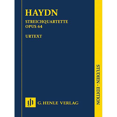 G. Henle Verlag String Quartets Volume 8, Op. 64 (Second Tost Quartets) Henle Music Folios Series by Joseph Haydn-thumbnail