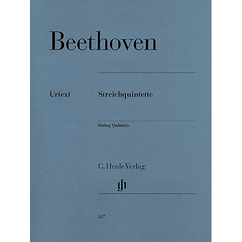 G. Henle Verlag String Quintets Henle Music Folios Series Softcover Composed by Ludwig van Beethoven-thumbnail