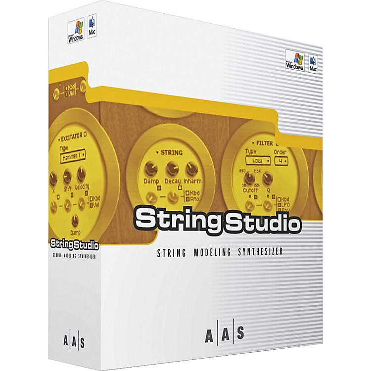 AAS String Studio String Modeling Synthesizer Software
