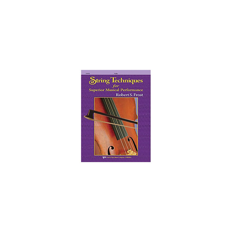 KJOSString Techniques for Superior Musical Performance Cello