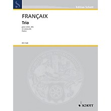 Schott Music String Trio (1933) (Set of Parts) Schott Series Composed by Jean Françaix