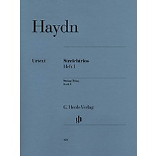 G. Henle Verlag String Trios - Volume 1 Henle Music Folios Series Softcover Composed by Joseph Haydn