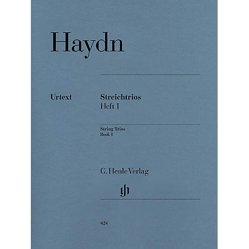 G. Henle Verlag String Trios - Volume 1 Henle Music Folios Series Softcover Composed by Joseph Haydn-thumbnail